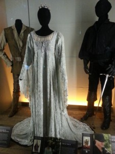 The Princess Bride wedding dress. And the Dread Pirate Roberts. And his name is Inigo Montaya, you killed his....