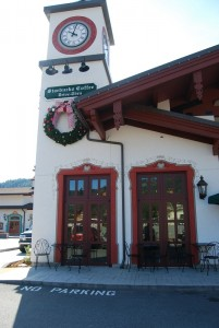 Starbucks in Leavenworth.